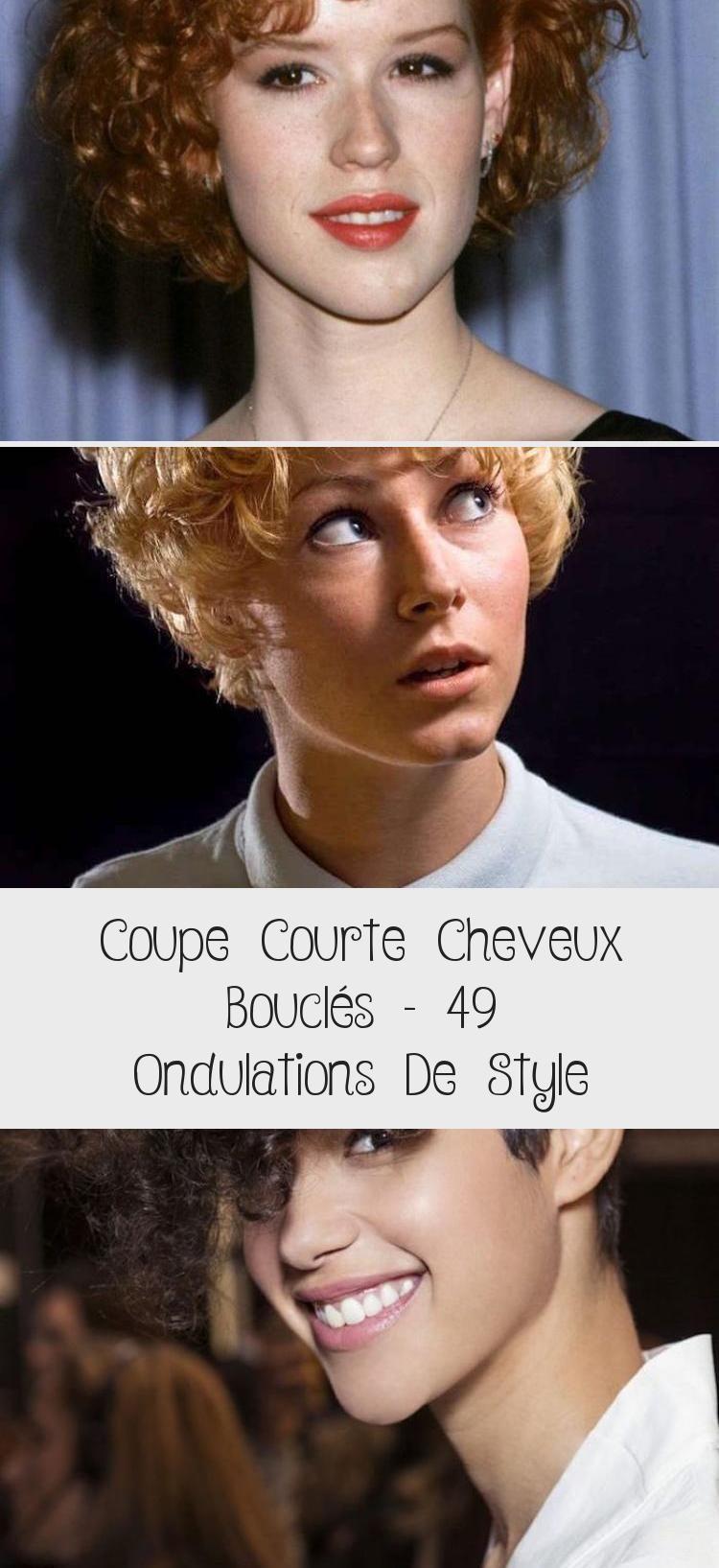 Coupe Courte Cheveux Bouclés - 49 Ondulations De Style | Movie posters