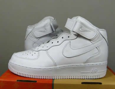 nike air force white high tops
