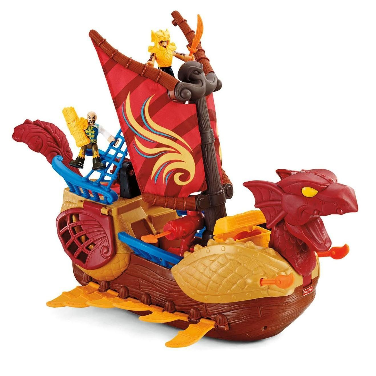 Fisher-Price Imaginext Serpent Pirate Ship ($89.90
