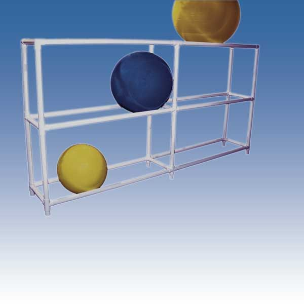 Gym Or Exercise Ball Rack Sensory Room Pvc Projects Kids Gym