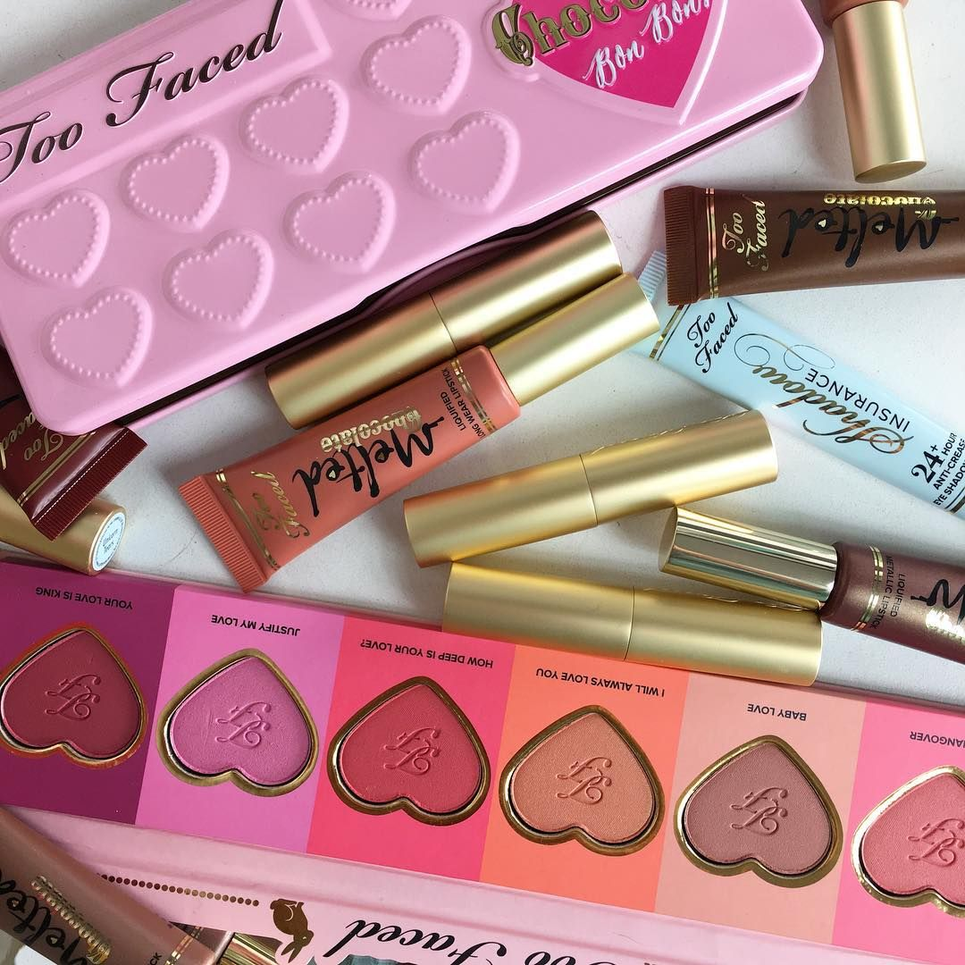 TooFaced Makeup Haul it's like a makeup candy land