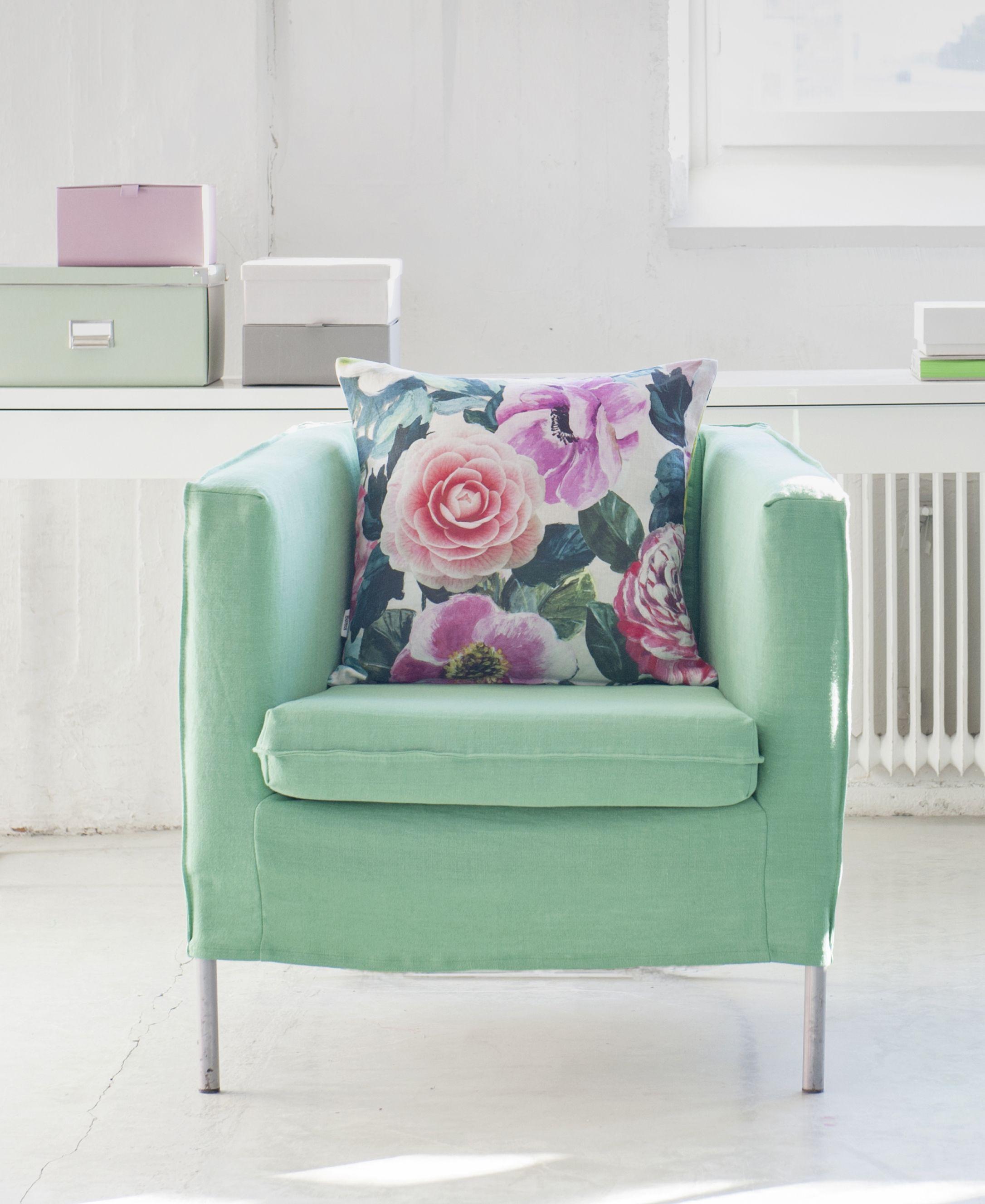 Amazing Klappsta Armchair Cover Loose Fit Pastel Interiors Inzonedesignstudio Interior Chair Design Inzonedesignstudiocom
