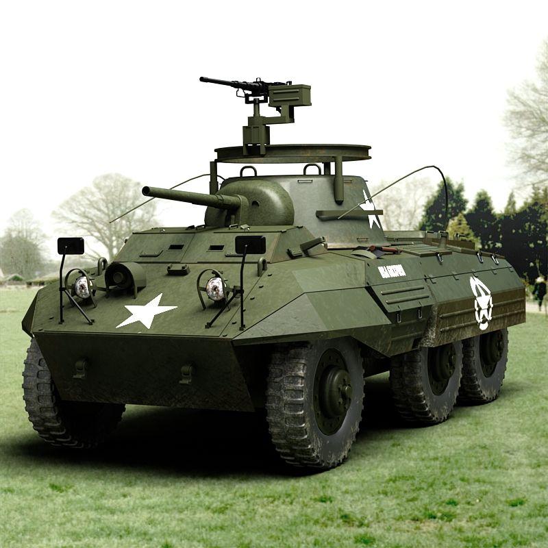 M8 GREYHOUND ARMORED CAR JpM ENTERTAINMENT