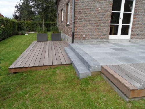 Résultat de recherche dimages pour terrasse en bois et pierre ...