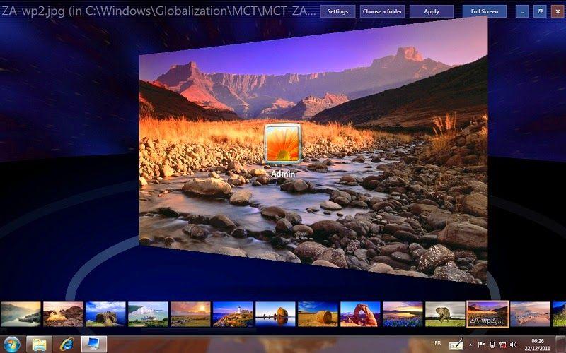 Windows 7 Logon Background Changer Windows