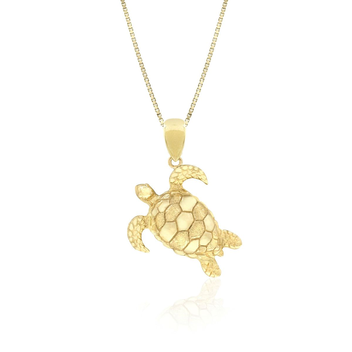 Honu pendant 14k gold 20mm high approx 34 17mm high honu pendant 14k gold 20mm high approx 34 aloadofball Image collections