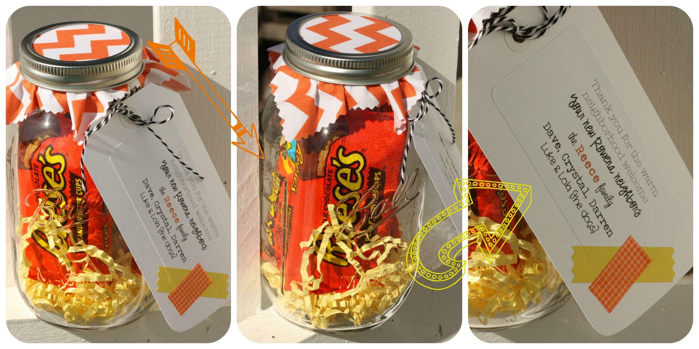 Mason jar fun neighbor gifts thelilcupcake mason jar