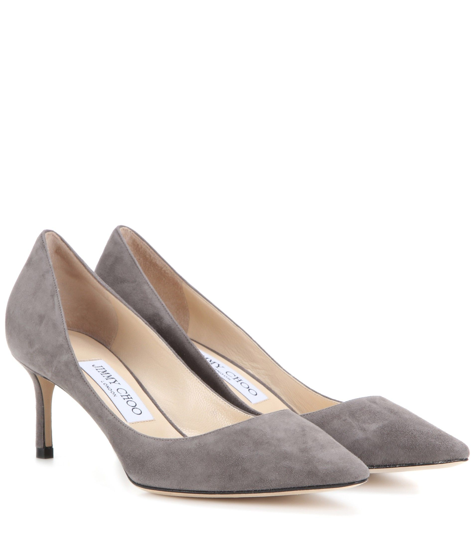 4afd4c1f5538a7 Jimmy Choo - Romy 60 suede pumps