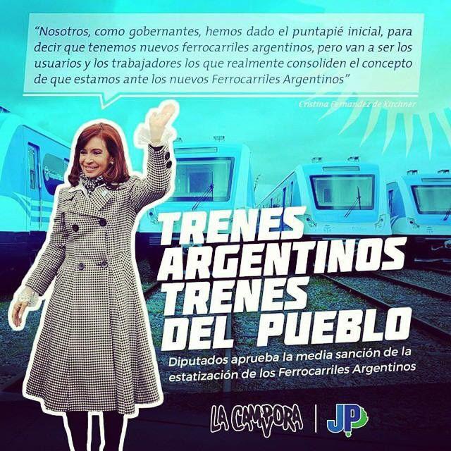 Trenes Argentinos- Trenes del pueblo