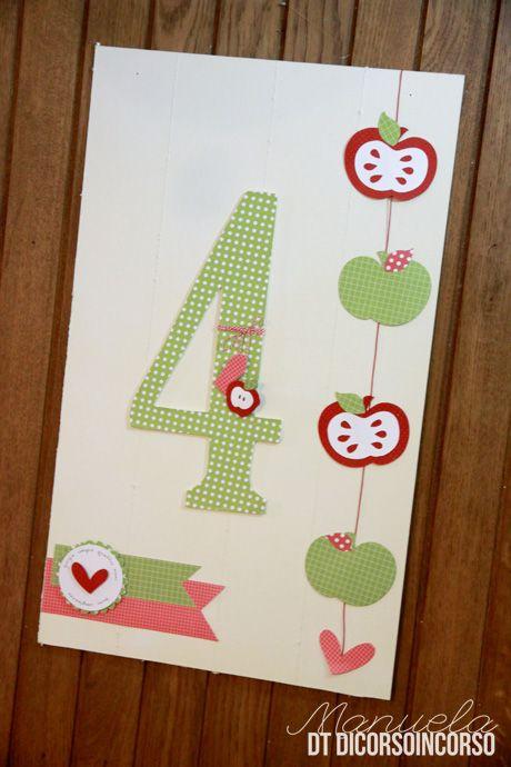 Mele, mele, mele…ed è subito B-day Party! Manu for DiCorsoinCorso