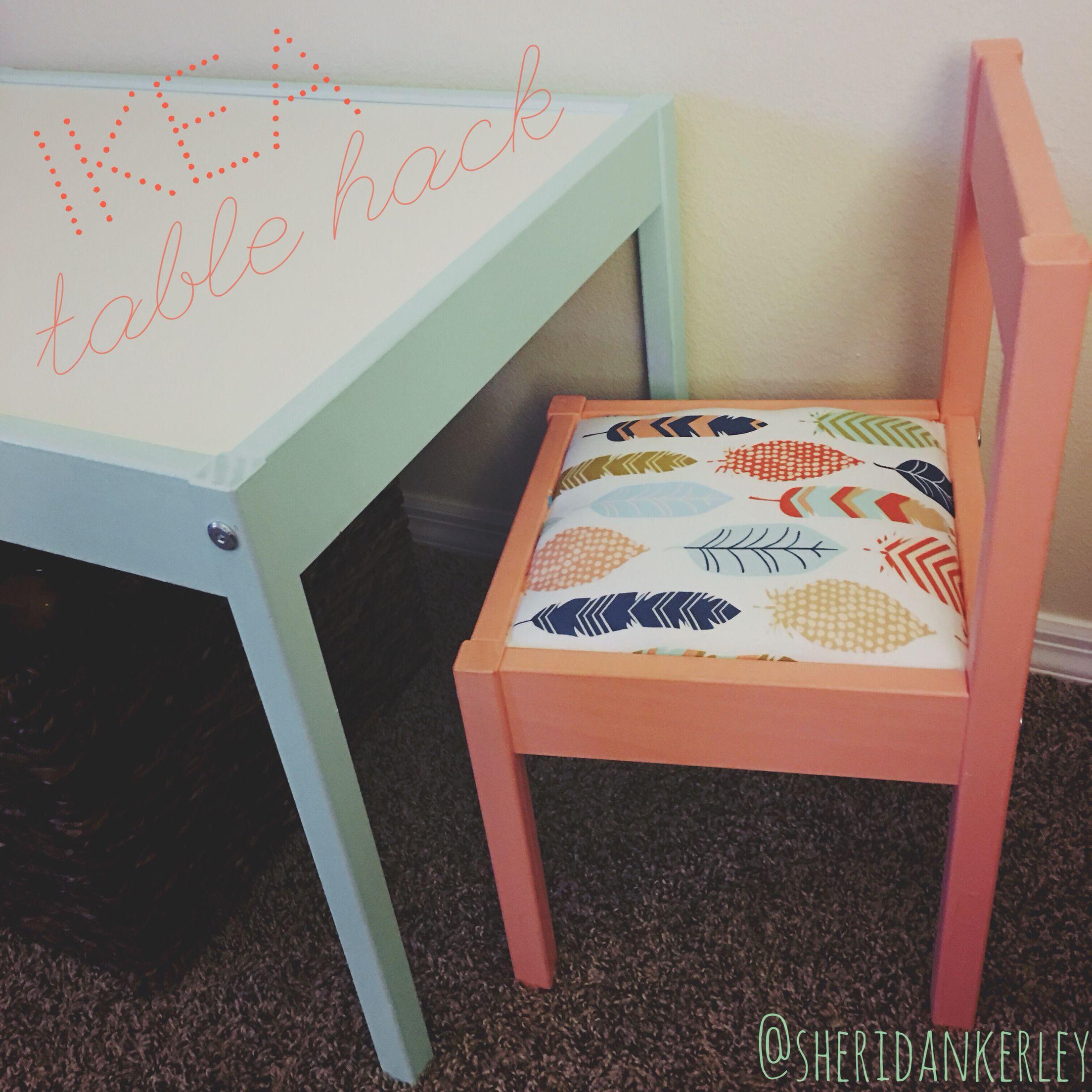 ikea playroom furniture. IKEA Latt Table Hack | @SheridanKerley Ikea Playroom Furniture A