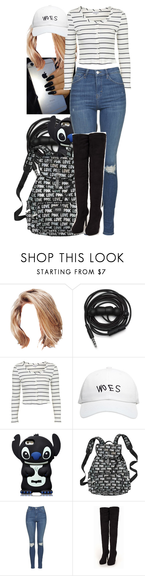 """School"" by aaliyahsalmon on Polyvore featuring Urbanears, Topshop, October's Very Own and Nly Shoes"
