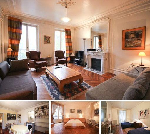 Pleasing Furnished 2 Bedroom Apartment For Rent Paris Rue De Beutiful Home Inspiration Xortanetmahrainfo