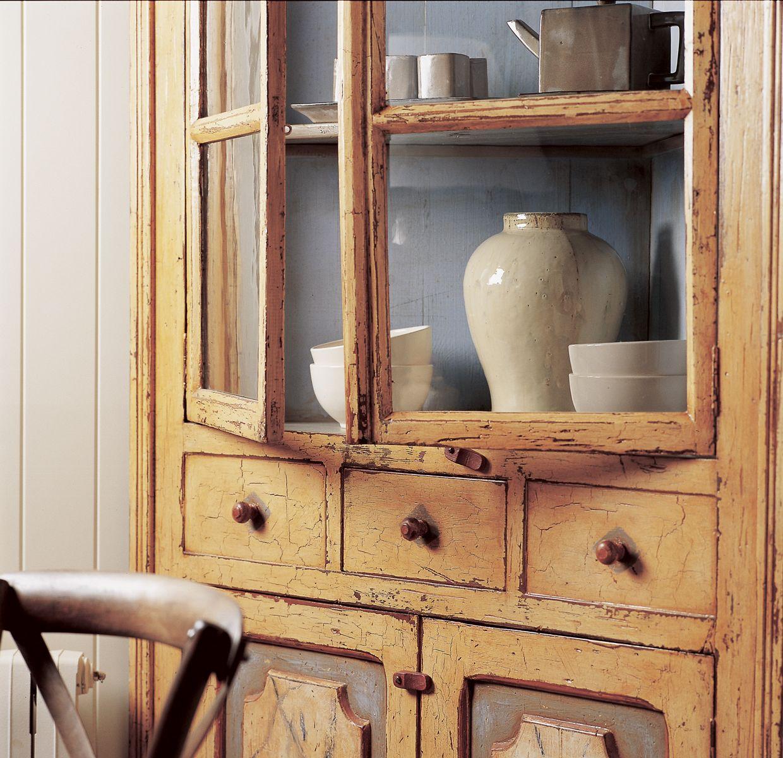 C Mo Restaurar Un Mueble Antiguo Muebles Pinterest Alacenas  # Muebles Remodelados