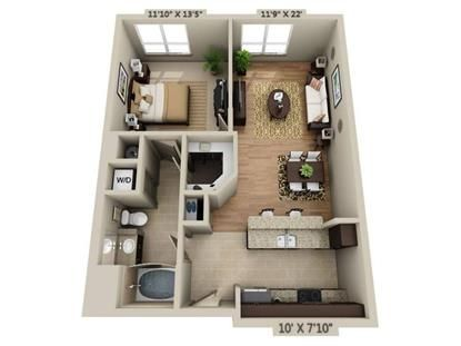 Needham Ma Homes And Apartments For Rent Architectural Floor Plans Hotel Room Plan Apartment Floor Plans