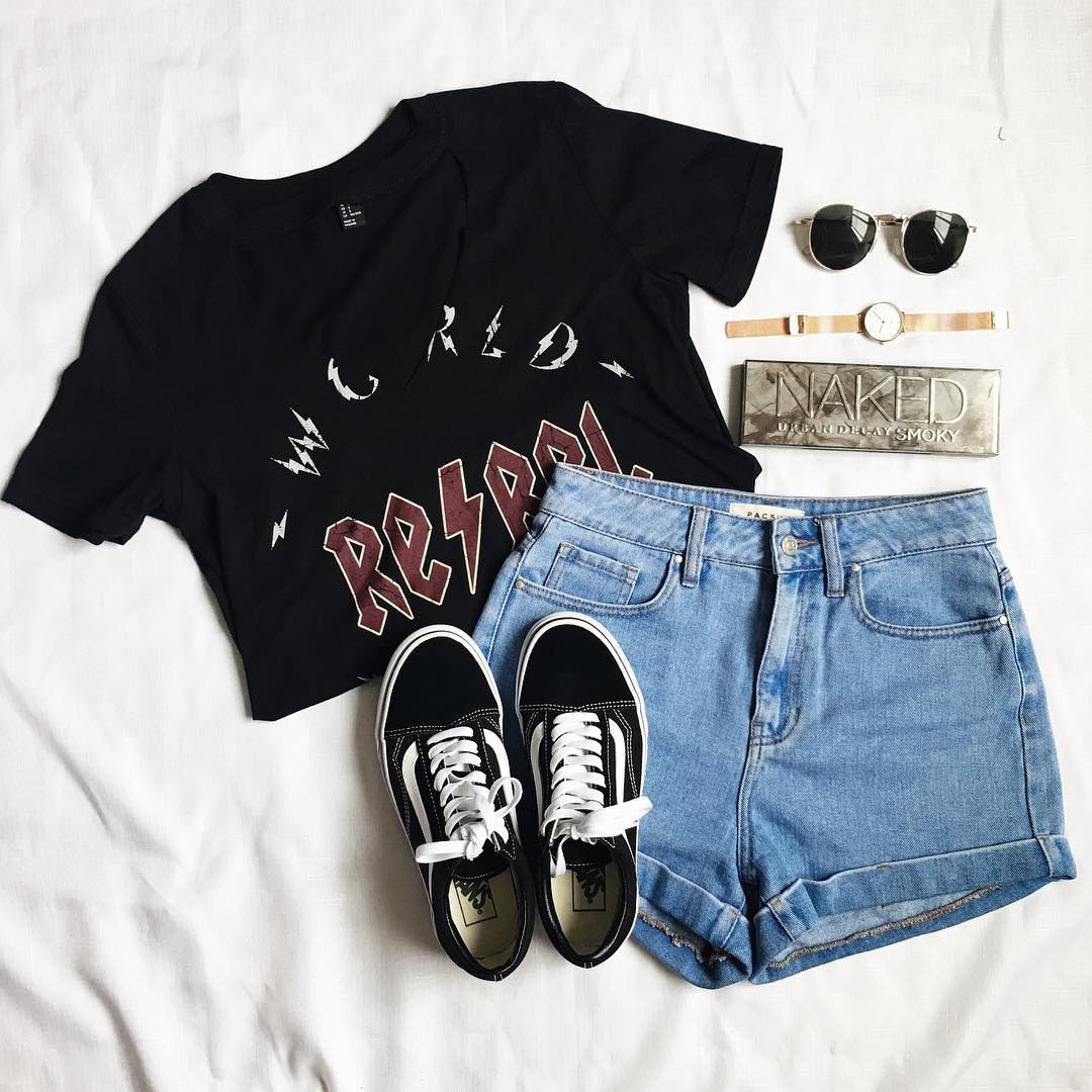 Hey you guys! So its almost time for summer and I decided to skim on Instagram for some cute summer outfit ideas to try out this season. These outfits are fashionable and you can rock these looks for a lot of Summer adventures. So check out these cute outfits and let me know what your favorites are in the comment section down below! #style #Accessories #shopping #styles #outfit #pretty #girl #girls #beauty #beautiful #me #cute #stylish #photooftheday #swag #dress #shoes #diy #design #f...