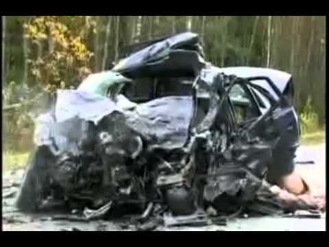 Car accident - be careful after watching