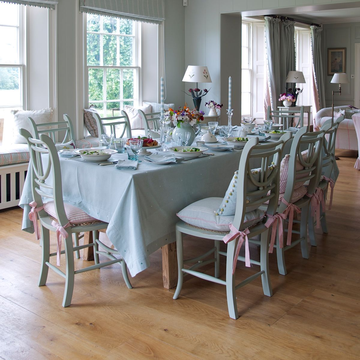 kitchen chairs | Painted Kitchen Chair With Cane Seat | DiNiNG ...