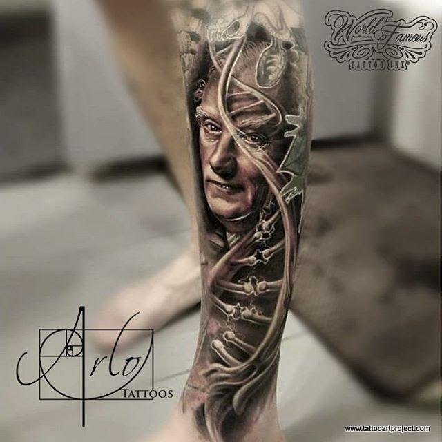 Arlo Dicristina Tattoo Artist: Tattoo Art Project