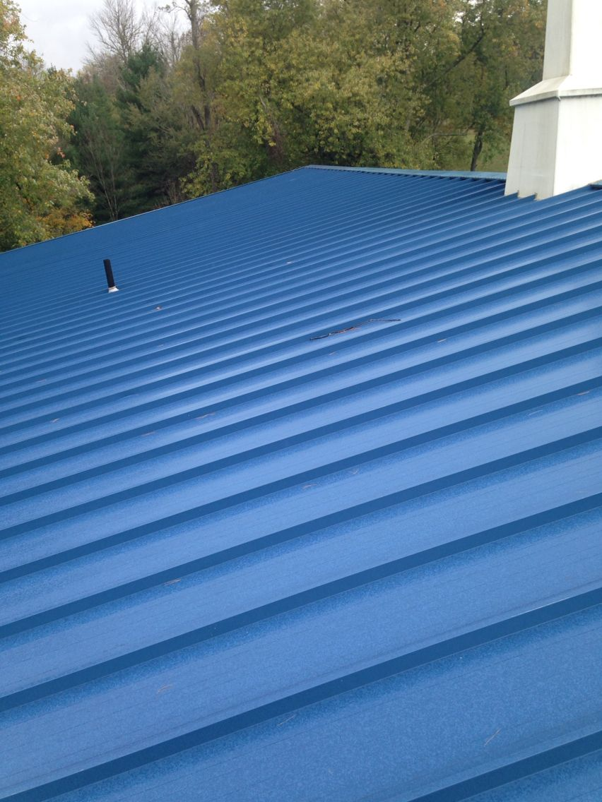 Best Blue Standing Seam Metal Roofing Love It With Images 400 x 300