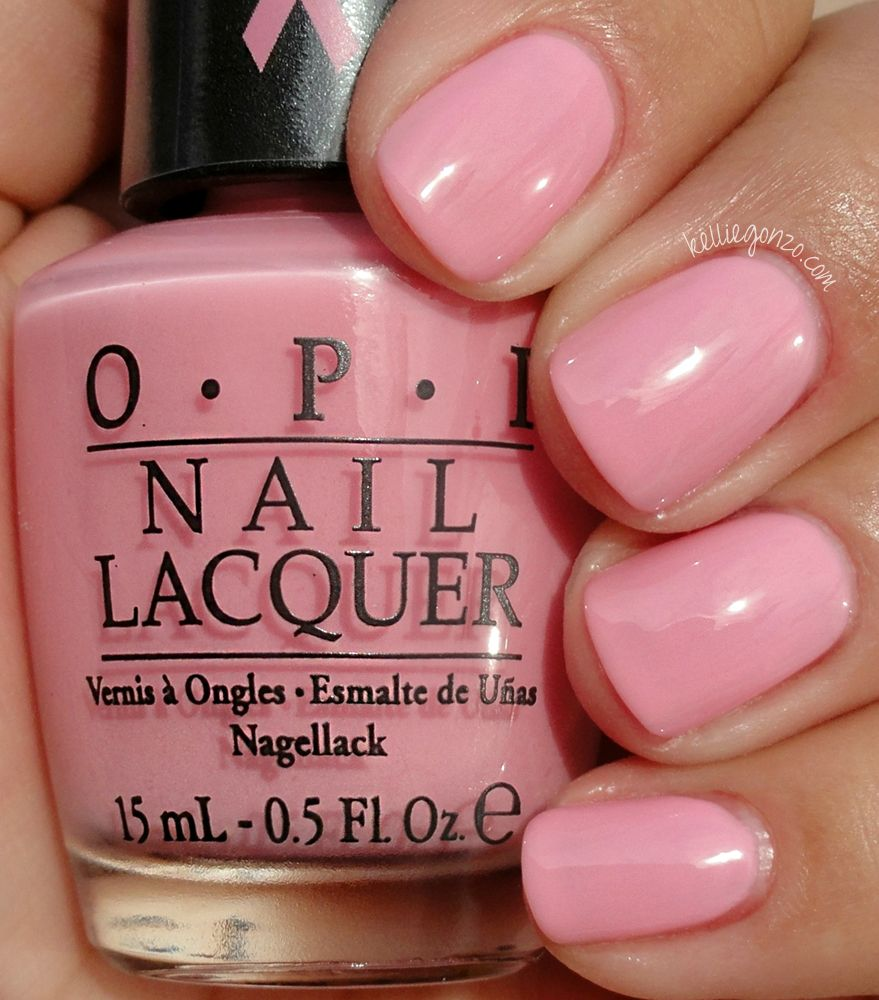 Opi I Think In Pink Opi Pink Nail Polish Opi Nail Colors Soft Pink Nails