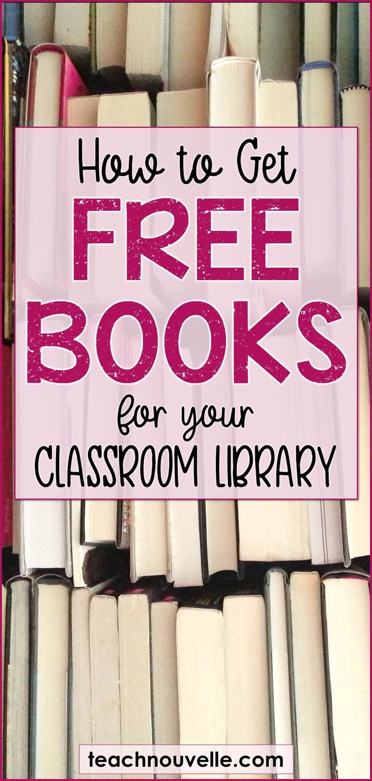 Free Books for Your Classroom Library