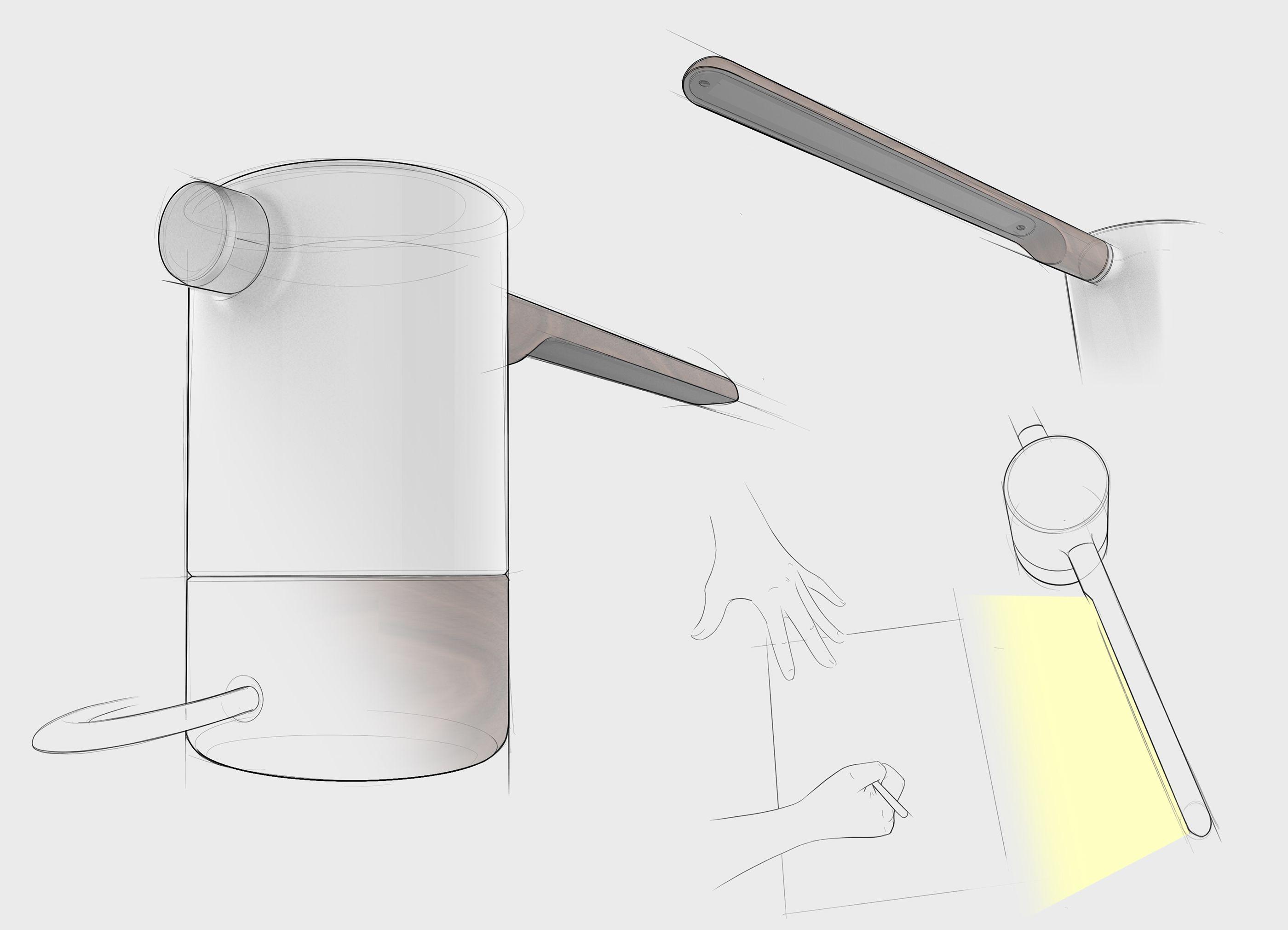 Hydrant Desk Light On Behance Desk Light Hydrant Light