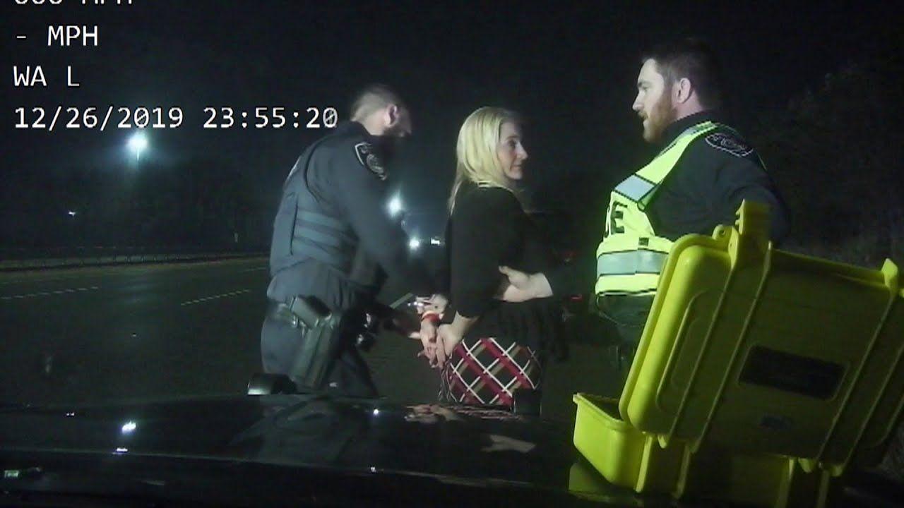 Dashcam video of Rep. Rebekah Warren failing sobriety