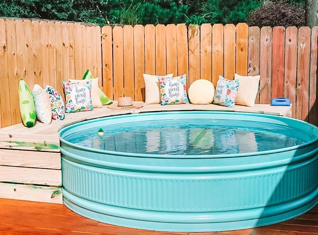 Stock Tank Pools Are The New Summer Trend - COWGIRL Magazine