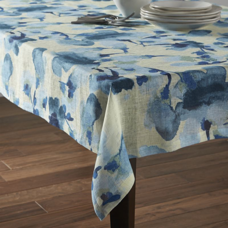 Crate And Barrel Adeline Tablecloth Home Table Cloth Home Decor