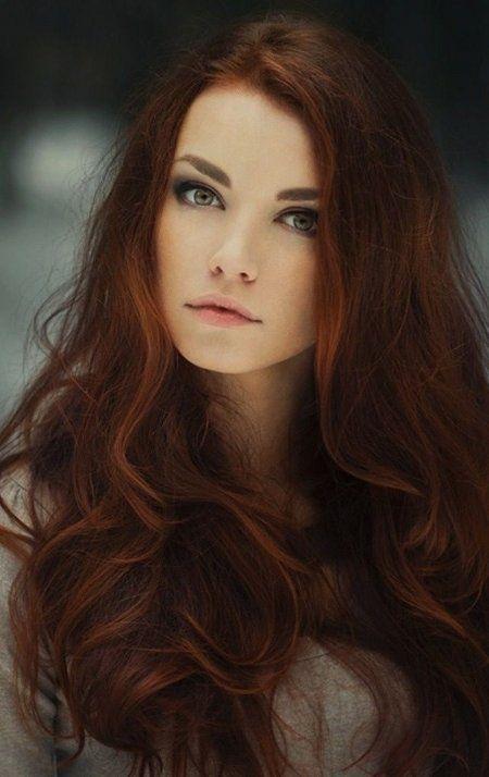 Rame Scuro Per L Inverno Capelli Hair Hair Styles E Auburn Hair