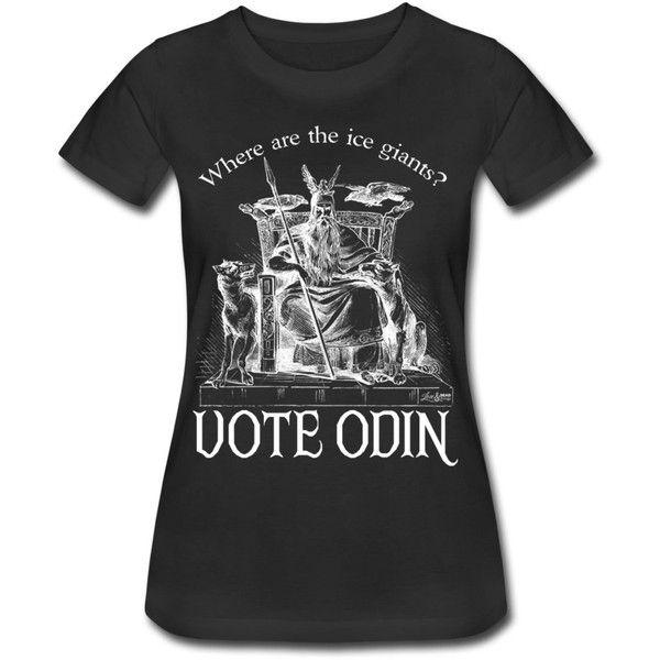 Voto, T-shirt Scura Dell'annata Delle Donne