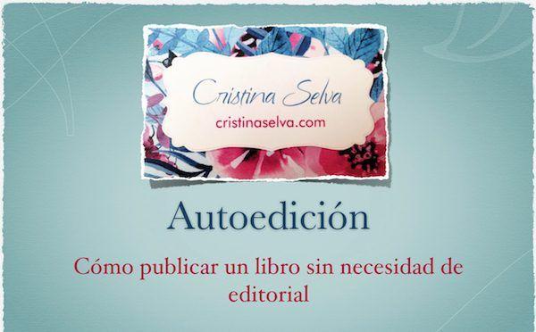 """La escritora y periodista Cristina Selva ha dado una charla informativa titulada """"Autoedición: cómo publicar un libro sin necesidad de editorial"""" UCAM"""