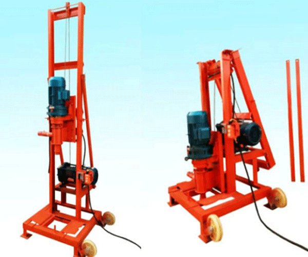 Small Well Drilling Rig In 2020 Water Well Drilling Rigs Water Well Drilling Rigs For Sale