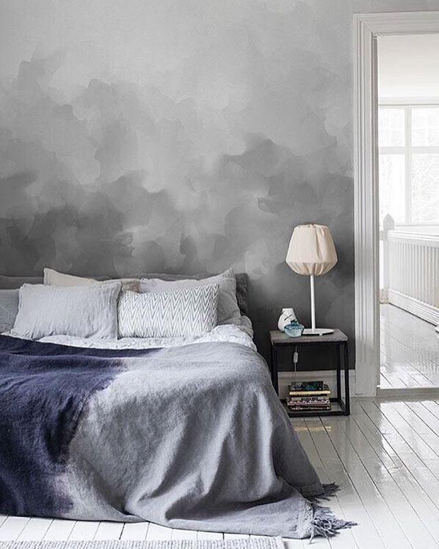 Prachtige muur in de slaapkamer via @homedesignetc #slaapkamer #muur ...