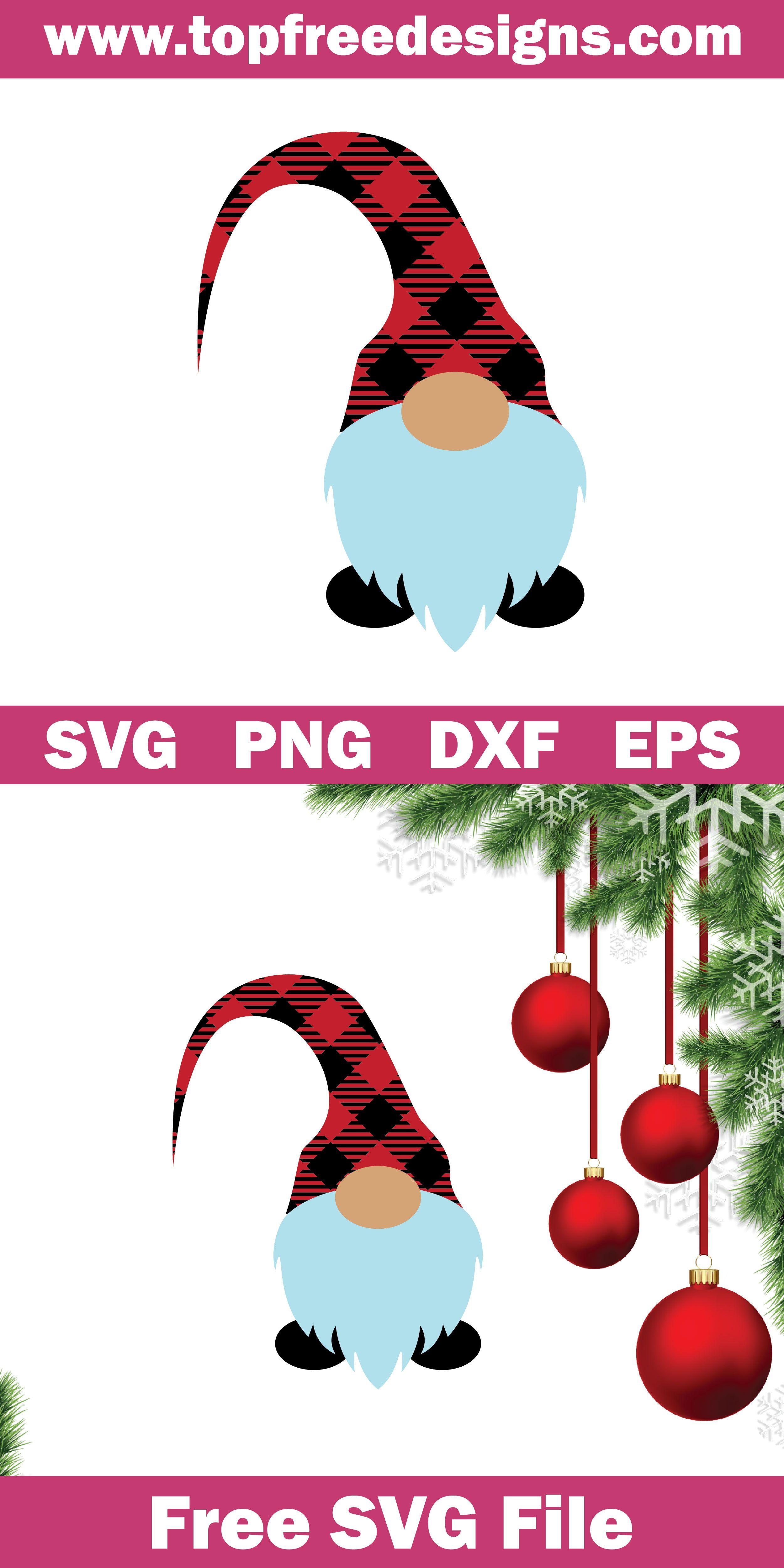 Free Christmas Gnome Svg File Cricut Christmas Ideas Christmas Gnome Christmas Svg Files