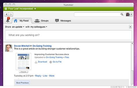 Microsoft Confirms Purchase Of Enterprise Social Network Yammer For 1.2 Billion
