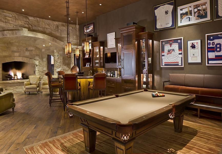 Amazing Game Room Design Ideas And Photos Zillow Digs Rustic Games Game Room Game Room Design