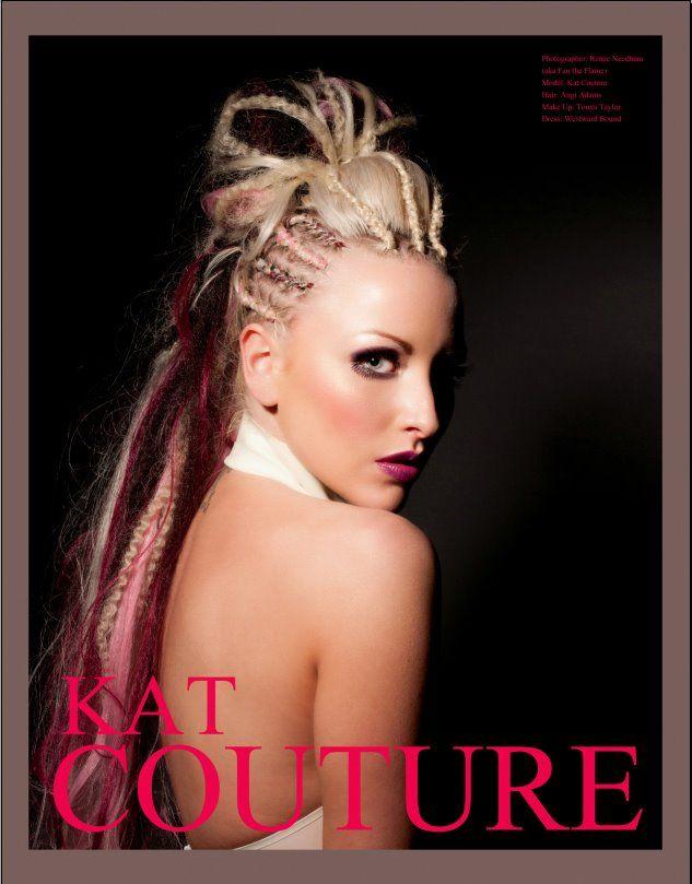 Alt Noir - Blond Ambition issue  Model: Kat Couture  MUA: Tonya Taylor  Hair: Angi Adams