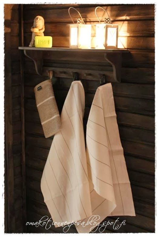 Supi saunavahalla tummennettu, suloinen sauna! Oma koti onnenpesä: Lempeät löylyt - uudistunut sauna