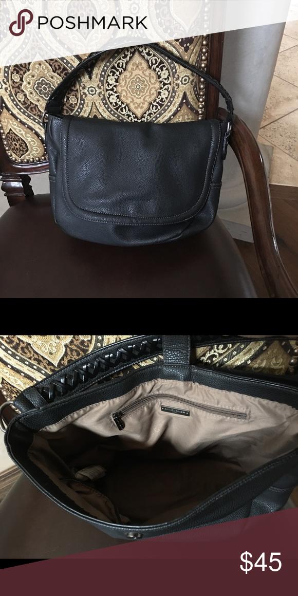 3ba329972afb 🆕EUC David Jones Paris Handbag Pebbled black handbag in excellent used  condition | Plenty of space inside | Measurements to follow David Jones  Paris Bags