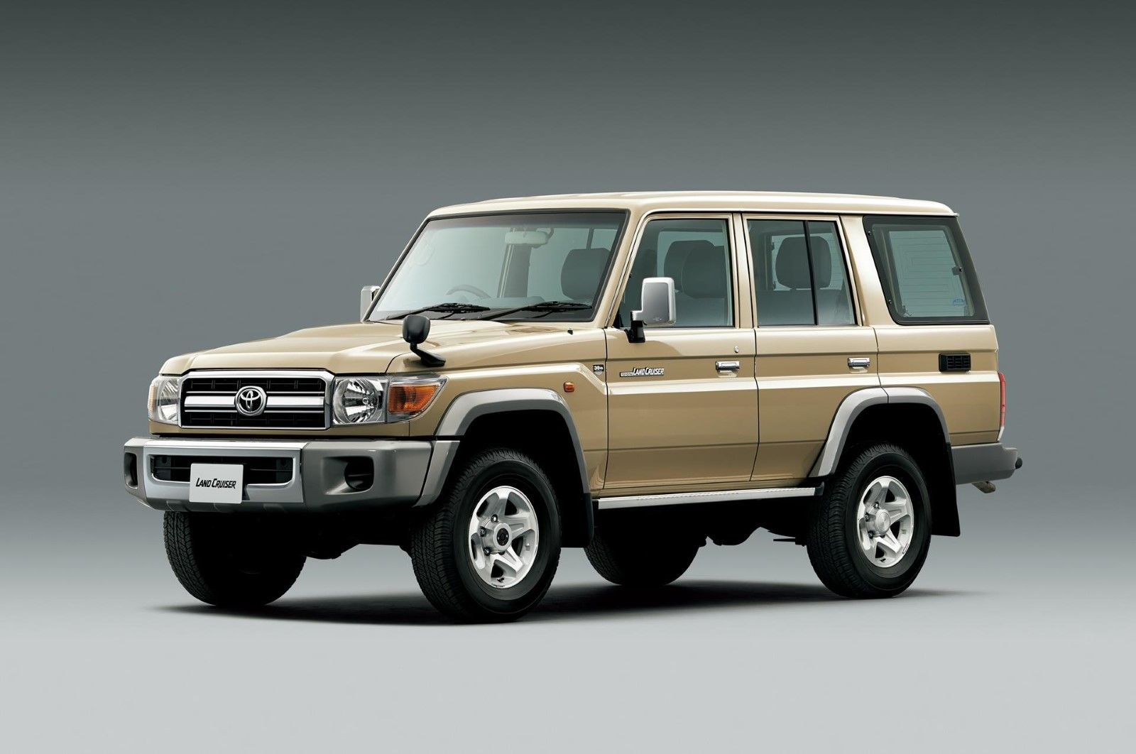 Toyota landcruiser 70 series 30th anniversary via wcxc