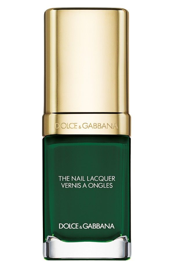 Adoring this wild green color from Dolce & Gabbana. | Nail craze ...