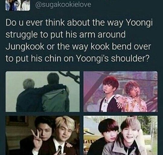 I have this feeling that Yoongi have a soft spot for