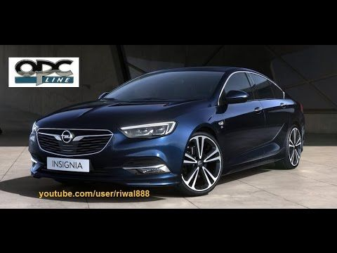 New Opel Insignia Grand Sport Opc Line Color Options Hd Vauxhall Insignia Opel Vauxhall