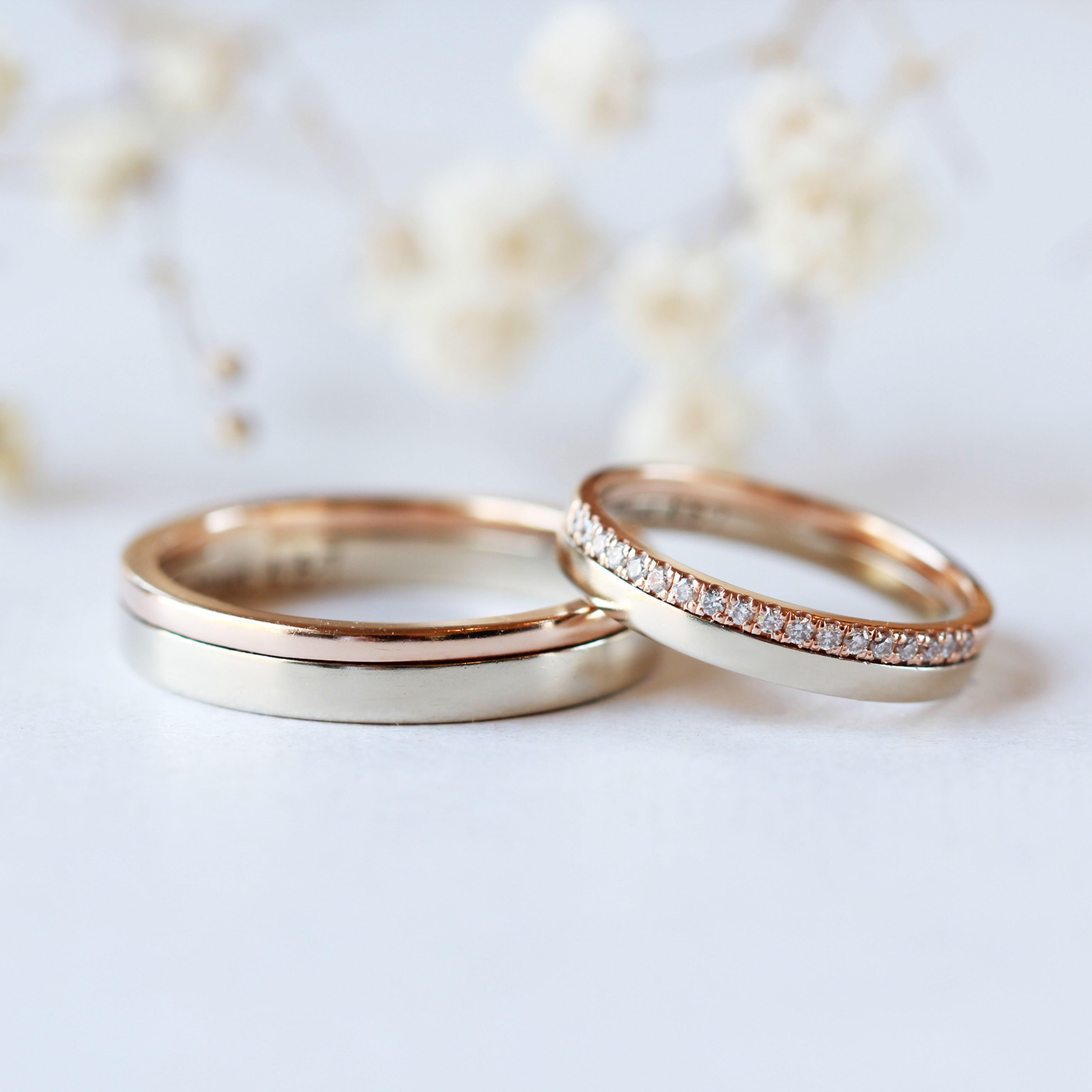 Photos de fiançailles #couple # anneaux #matching #simple couple anneaux correspondant simple…