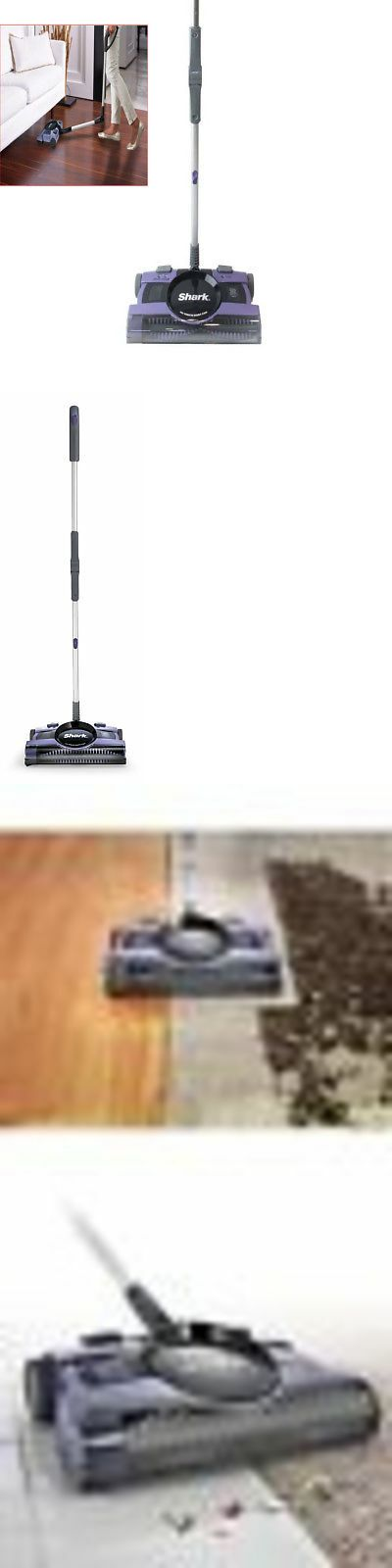 Carpet and Floor Sweepers 79657: Shark Crdls Sweeper Shark V2950 Rechargeable Floor And Carpet Sweeper Purple13 -> BUY IT NOW ONLY: $68.77 on #eBay #carpet ...