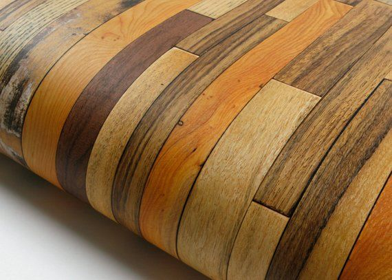 Reclaimed Wood Instant Self Adhesive