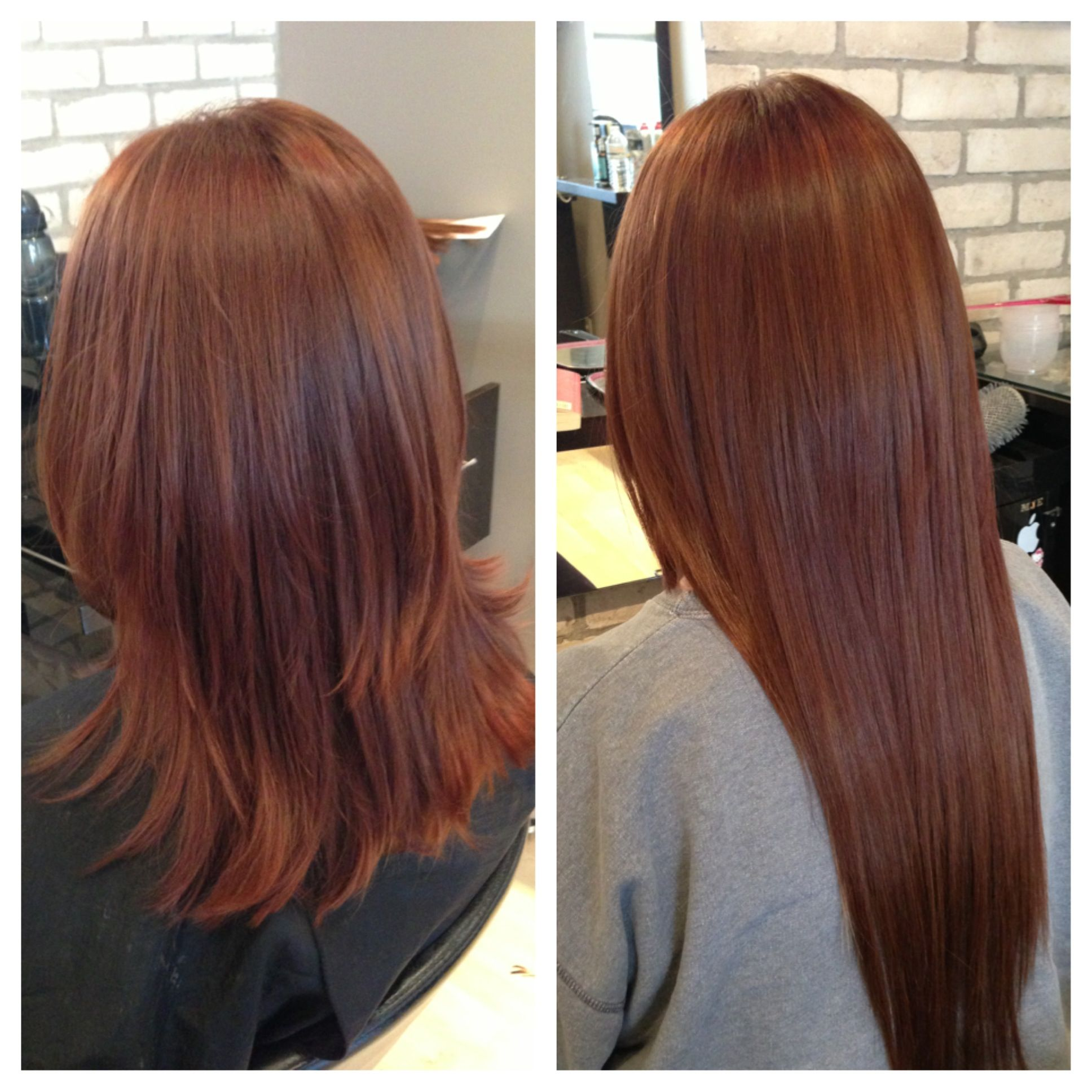 Before After Fusion Extensions Extensiones Pinterest