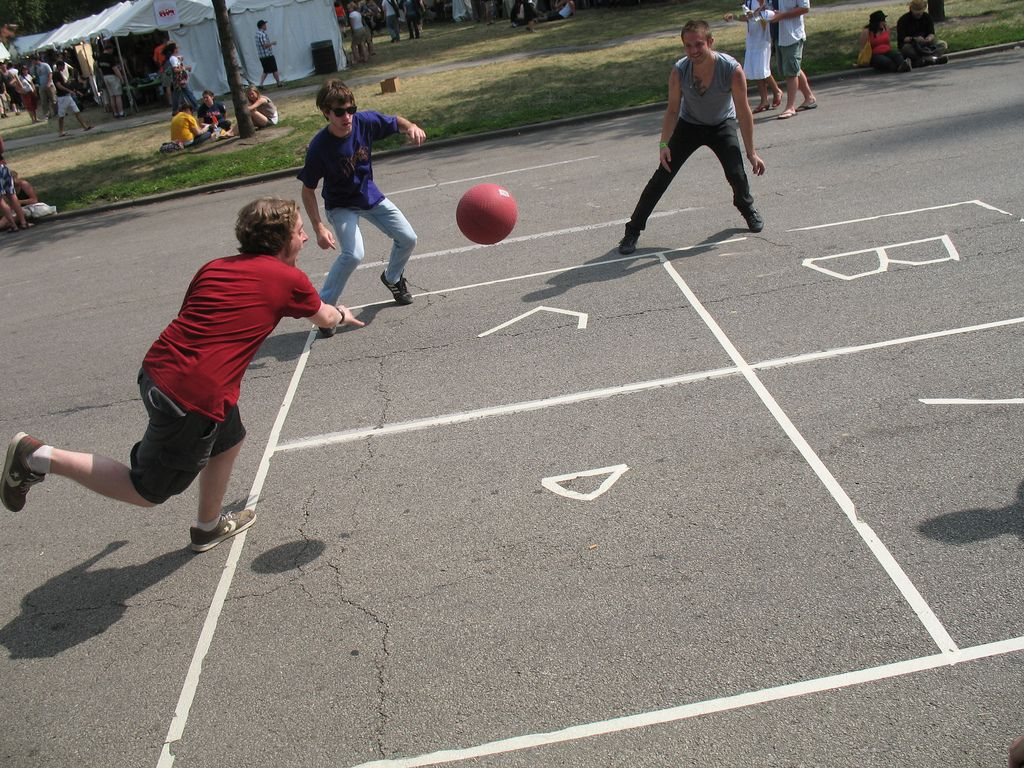 Monday S Game 51 Four Square Recess Games Four Square Playground Games
